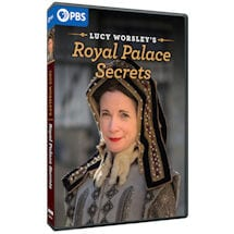 Lucy Worsley's Royal Palace Secrets DVD