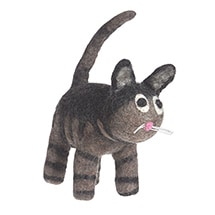 Alternate Image 2 for Felt Cat Characters