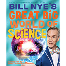 Bill Nye's Great Big Worldof Science Signed Edition (Hardcover)
