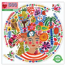 Product Image for Positivity 500 Piece Round Puzzle