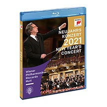 Alternate Image 1 for PRE-ORDER Great Performances: Vienna Philharmonic 2021 New Years Eve Concert DVD & Blu-ray
