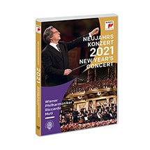 Product Image for PRE-ORDER Great Performances: Vienna Philharmonic 2021 New Years Eve Concert DVD & Blu-ray
