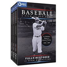 PRE-ORDER Baseball: A Film By Ken Burns Fully Restored in High Definition (includes The Tenth Inning) DVD & Blu-ray