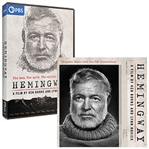 Hemingway: A Film by Ken Burns and Lynn Novick DVD & CD Soundtrack Bundle
