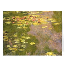 Alternate Image 2 for Monet Water Lilies Notecards