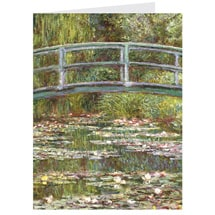Alternate Image 4 for Monet Water Lilies Notecards