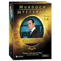 Product Image for Murdoch Mysteries Collection: Seasons 1-4 DVD & Blu-ray
