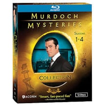 Alternate Image 2 for Murdoch Mysteries Collection: Seasons 1-4 DVD & Blu-ray