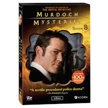 Product Image for Murdoch Mysteries: Season 8 DVD & Blu-ray