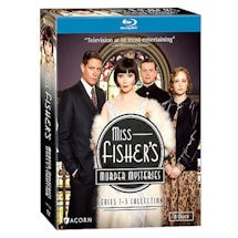 Alternate Image 2 for Miss Fisher's Murder Mysteries: Series 1-3 Collection DVD & Blu-ray