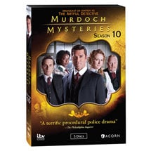 Product Image for Murdoch Mysteries: Season 10 DVD & Blu-ray