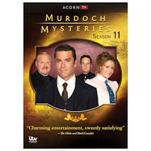 Product Image for Murdoch Mysteries, Season 11 DVD & Blu-ray