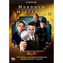 Product Image for Murdoch Mysteries Season 12 DVD & Blu-ray
