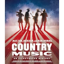 Product Image for Country Music: An Illustrated History Hardcover Book