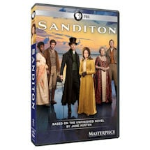 Product Image for Masterpiece: Sanditon (UK Edition) DVD & Blu-ray