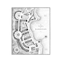 Alternate Image 2 for World of Sanditon Official Companion Hardcover Book