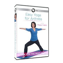 easy yoga for everything with peggy cappy dvd  shoppbs