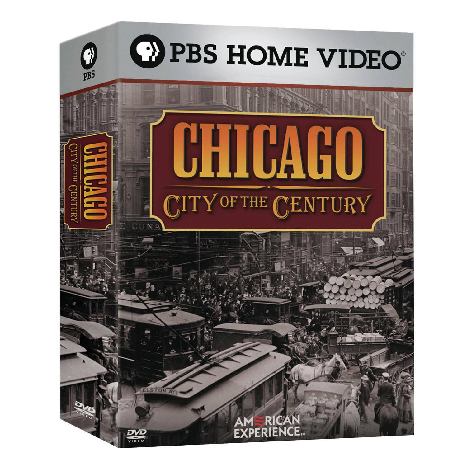 American Experience Chicago City Of The Century Dvd 4pk Shop Pbs Org