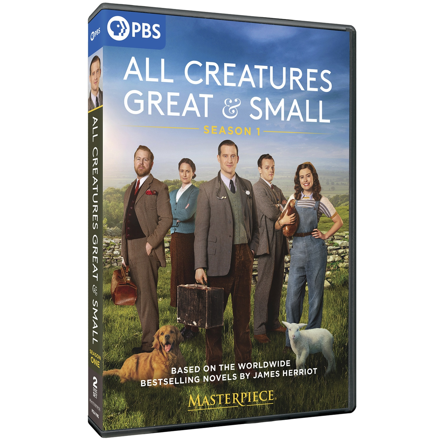 Masterpiece: All Creatures Great and Small DVD & Blu-ray   Shop ...