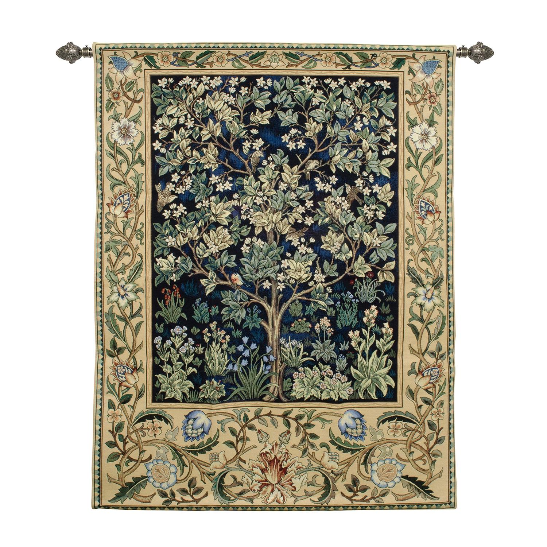 Tree of Life Family Tree Tapestry by Artist Dan Morris